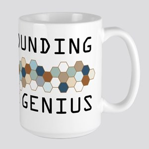 Rockhounding Genius Large Mug