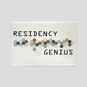 Residency Genius Rectangle Magnet