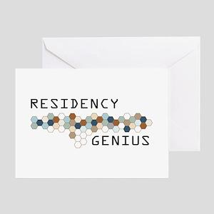 Residency Genius Greeting Card
