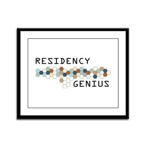 Residency Genius Framed Panel Print