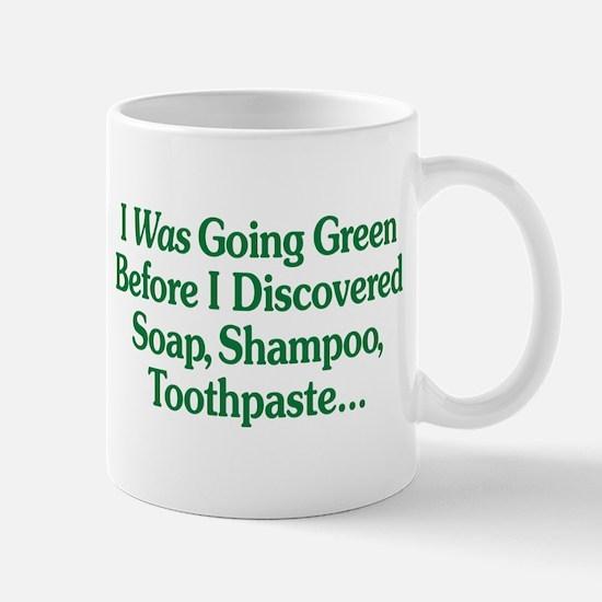 I Was Going Green Mug