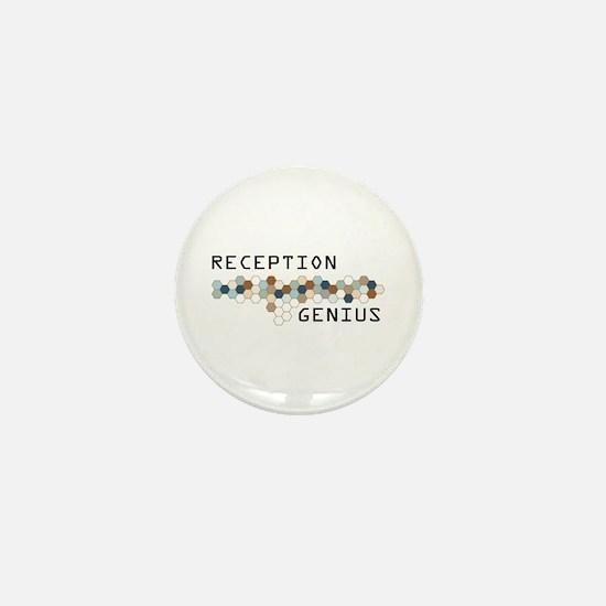 Reception Genius Mini Button