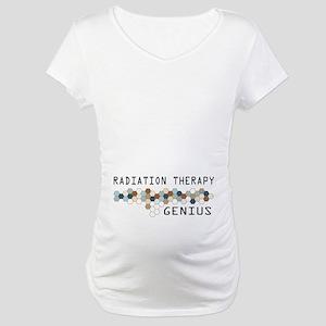 Radiation Therapy Genius Maternity T-Shirt
