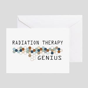 Radiation Therapy Genius Greeting Card