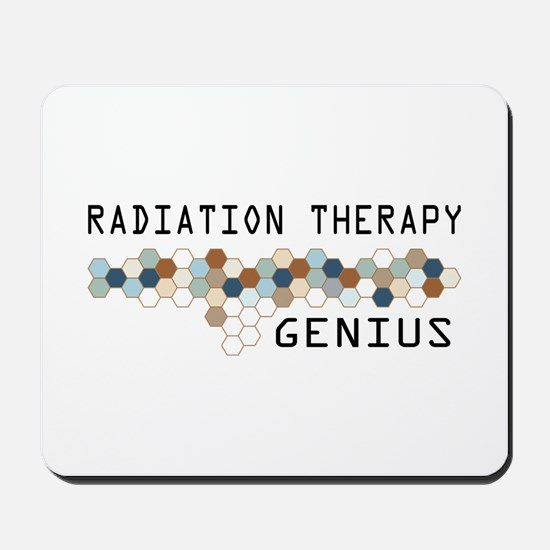 Radiation Therapy Genius Mousepad