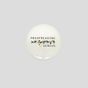 Proofreading Genius Mini Button