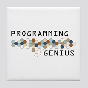 Programming Genius Tile Coaster