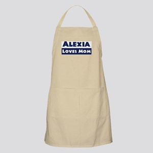 Alexia Loves Mom BBQ Apron