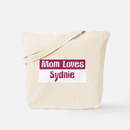 Mom Loves Sydnie Tote Bag