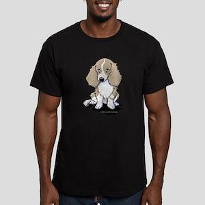 Isabella Piebald LH Do Men's Fitted T-Shirt (dark)