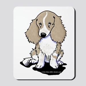 Isabella Piebald LH Doxie Mousepad