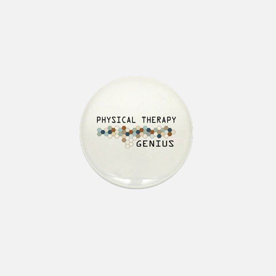 Physical Therapy Genius Mini Button (10 pack)