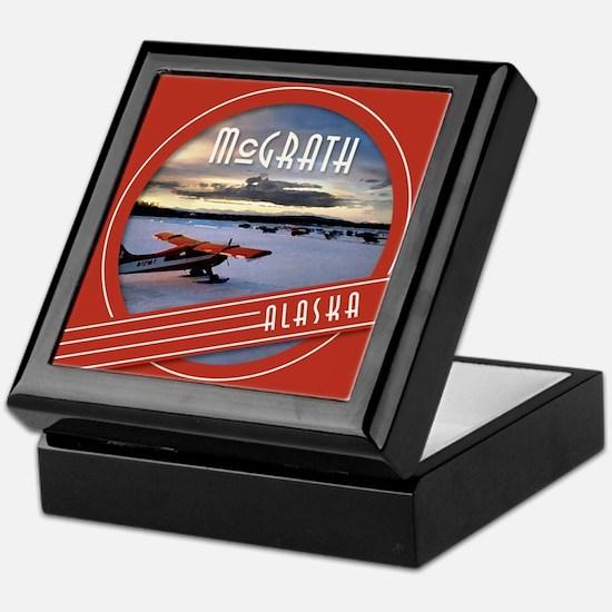 McGrath Alaska Vintage Label Keepsake Box