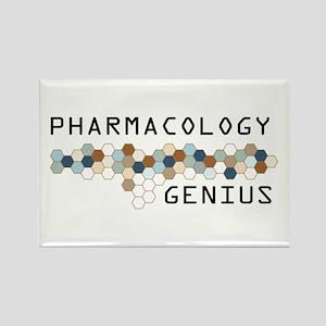 Pharmacology Genius Rectangle Magnet