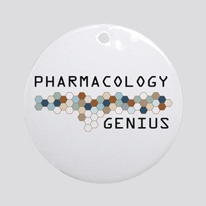Pharmacology Genius Ornament (Round)