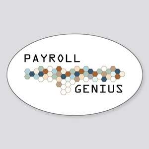 Payroll Genius Oval Sticker