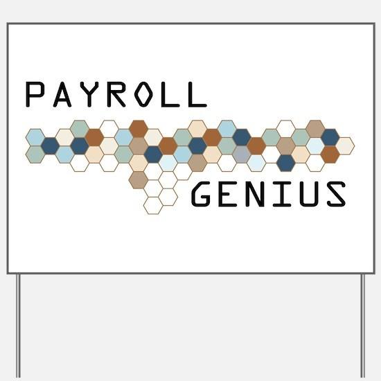 Payroll Genius Yard Sign