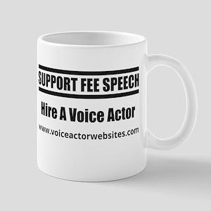 SUPPORT FEE SPEECH Mugs