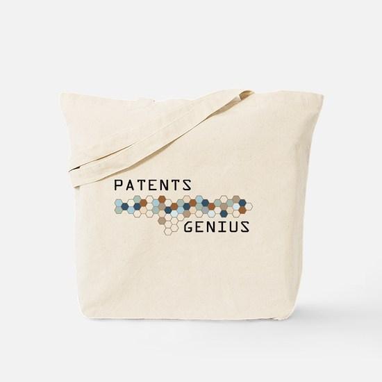 Patents Genius Tote Bag