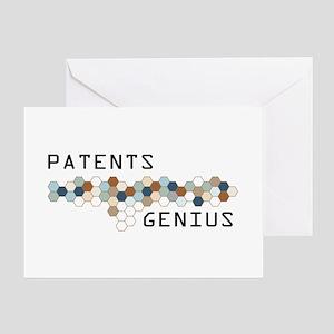 Patents Genius Greeting Card