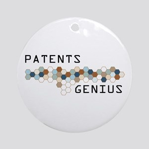 Patents Genius Ornament (Round)