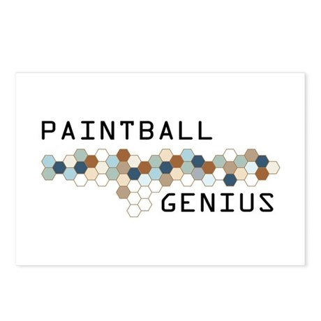Paintball Genius Postcards (Package of 8)