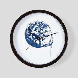 Earth Tribe Climber Wall Clock