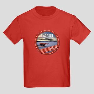 McGrath Alaska Vintage Label Kids Dark T-Shirt
