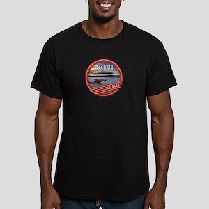 McGrath Alaska Vintage Label Men's Fitted T-Shirt