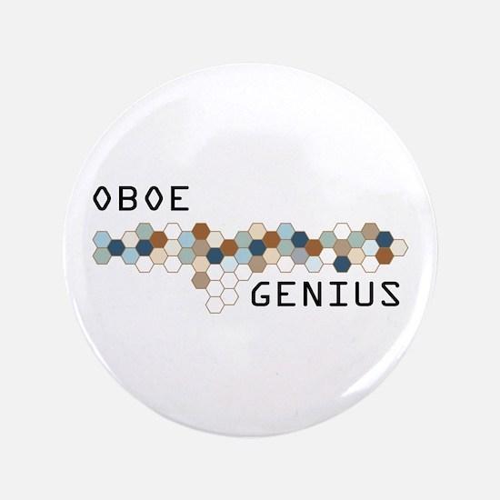 """Oboe Genius 3.5"""" Button"""