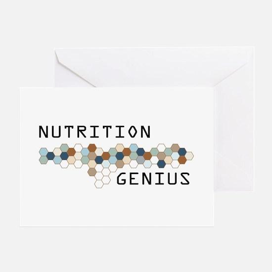 Nutrition Genius Greeting Card