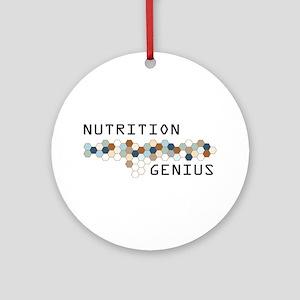Nutrition Genius Ornament (Round)