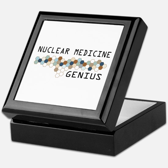 Nuclear Medicine Genius Keepsake Box