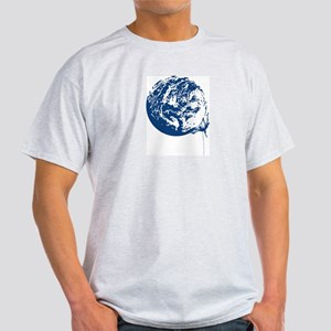 Earth Tribe Climber Ash Grey T-Shirt