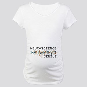 Neuroscience Genius Maternity T-Shirt