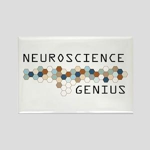 Neuroscience Genius Rectangle Magnet