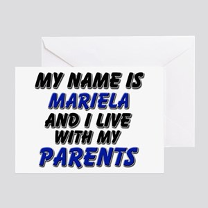 my name is mariela and I live with my parents Gree