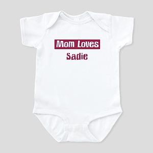 Mom Loves Sadie Infant Bodysuit