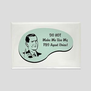 FBI Agent Voice Rectangle Magnet
