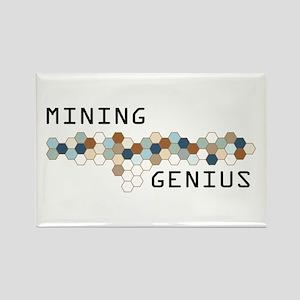 Mining Genius Rectangle Magnet