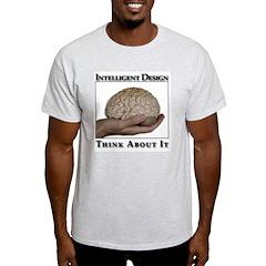 ID Brain Ash Grey T-Shirt