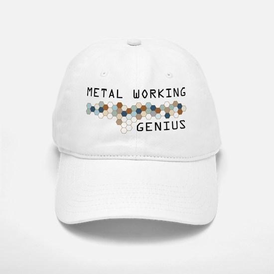 Metal Working Genius Baseball Baseball Cap