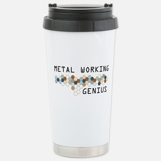 Metal Working Genius Stainless Steel Travel Mug