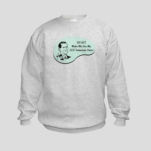 EEG Technician Voice Kids Sweatshirt