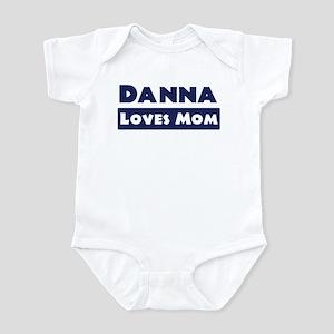 Danna Loves Mom Infant Bodysuit