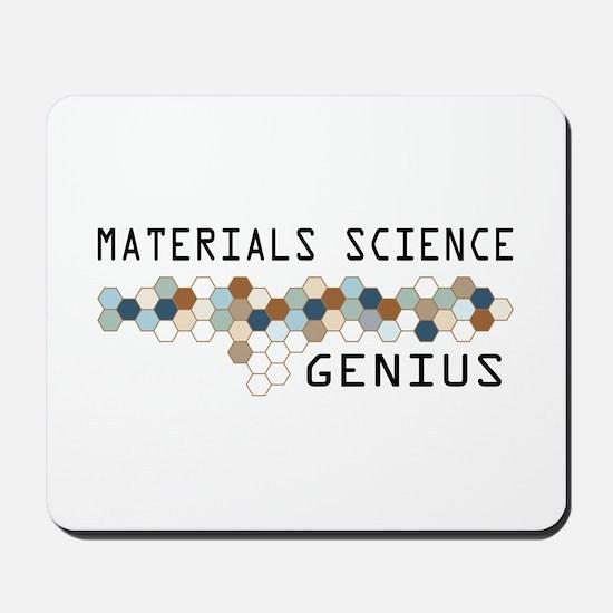 Materials Science Genius Mousepad