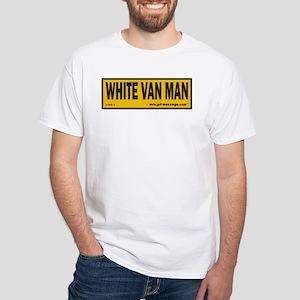 aa619efca3 White Van Man T-Shirts - CafePress
