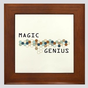 Magic Genius Framed Tile