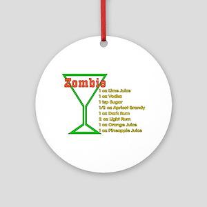 Zombie Ornament (Round)