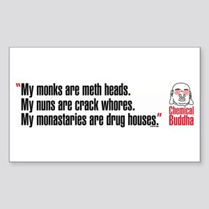 My Monks Rectangle Sticker